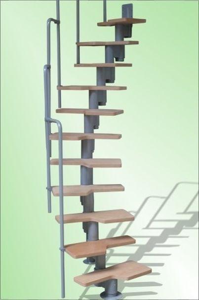 Helytakarékos modul lépcső